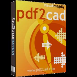 轉換 PDF 到 AutoCAD 軟體 pdf2cad 9.0 版